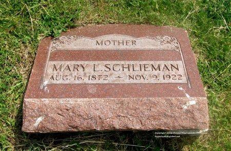 SCHLIEMAN, MARY L. - Lucas County, Ohio | MARY L. SCHLIEMAN - Ohio Gravestone Photos