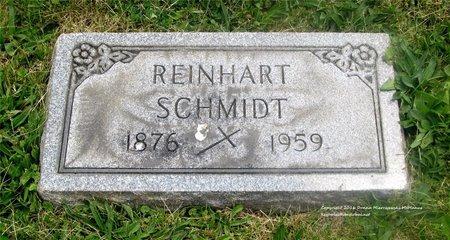 SCHMIDT, REINHART - Lucas County, Ohio | REINHART SCHMIDT - Ohio Gravestone Photos