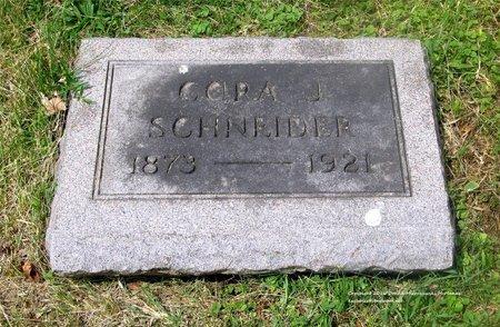 SCHNEIDER, CORA J. - Lucas County, Ohio | CORA J. SCHNEIDER - Ohio Gravestone Photos