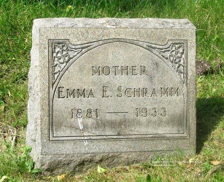 PRIEST SCHRAMM, EMMA E. - Lucas County, Ohio | EMMA E. PRIEST SCHRAMM - Ohio Gravestone Photos