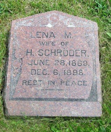 SCHRODER, LENA M. - Lucas County, Ohio   LENA M. SCHRODER - Ohio Gravestone Photos