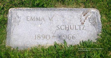 SCHULTZ, EMMA V. - Lucas County, Ohio | EMMA V. SCHULTZ - Ohio Gravestone Photos