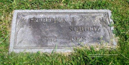 SCHULTZ, FREDERICK J. - Lucas County, Ohio | FREDERICK J. SCHULTZ - Ohio Gravestone Photos