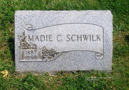 SCHWILK, MADIE C. - Lucas County, Ohio   MADIE C. SCHWILK - Ohio Gravestone Photos