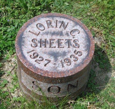 SHEETS, LORIN C. - Lucas County, Ohio | LORIN C. SHEETS - Ohio Gravestone Photos