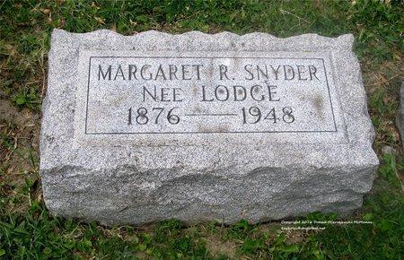 SNYDER, MARGARET R. - Lucas County, Ohio   MARGARET R. SNYDER - Ohio Gravestone Photos