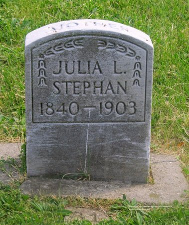 STEPHAN, JULIA L. - Lucas County, Ohio | JULIA L. STEPHAN - Ohio Gravestone Photos