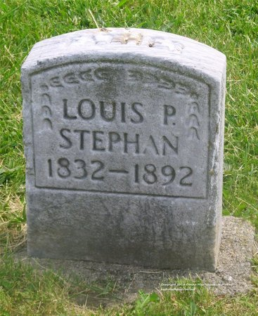 STEPHAN, LOUIS P. - Lucas County, Ohio | LOUIS P. STEPHAN - Ohio Gravestone Photos