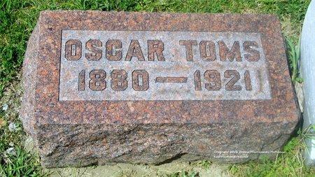TOMS, OSCAR - Lucas County, Ohio | OSCAR TOMS - Ohio Gravestone Photos