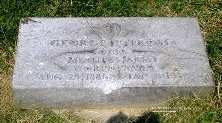 TROST, GEORGE F. - Lucas County, Ohio   GEORGE F. TROST - Ohio Gravestone Photos