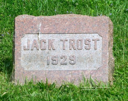 TROST, JACK - Lucas County, Ohio | JACK TROST - Ohio Gravestone Photos
