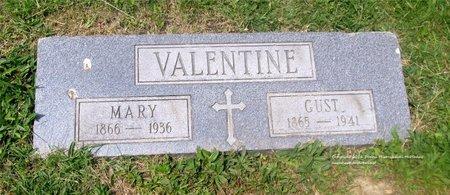 VALENTINE, MARY - Lucas County, Ohio | MARY VALENTINE - Ohio Gravestone Photos