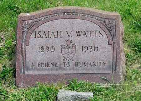 WATTS, ISAIAH V. - Lucas County, Ohio | ISAIAH V. WATTS - Ohio Gravestone Photos