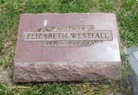 WESTFALL, ELIZABETH - Lucas County, Ohio   ELIZABETH WESTFALL - Ohio Gravestone Photos