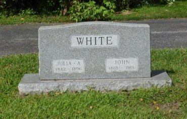 ROWBOTHAM WHITE, JULIA ANN - Lucas County, Ohio | JULIA ANN ROWBOTHAM WHITE - Ohio Gravestone Photos