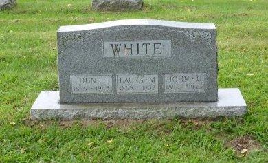 WHITE, JOHN CYRIL - Lucas County, Ohio | JOHN CYRIL WHITE - Ohio Gravestone Photos