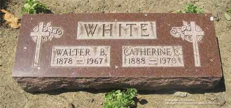 WHITE, CATHERINE C. - Lucas County, Ohio | CATHERINE C. WHITE - Ohio Gravestone Photos