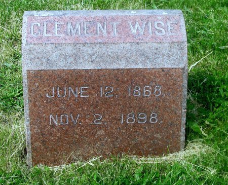 WISE, CLEMENT - Lucas County, Ohio | CLEMENT WISE - Ohio Gravestone Photos