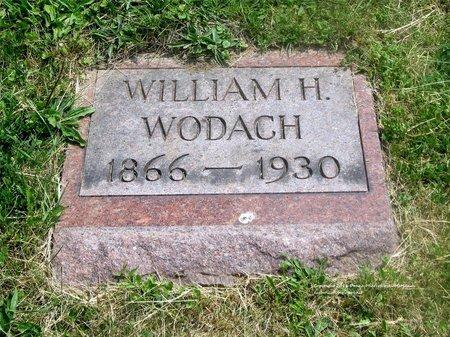 WODACH, WILLIAM H. - Lucas County, Ohio | WILLIAM H. WODACH - Ohio Gravestone Photos