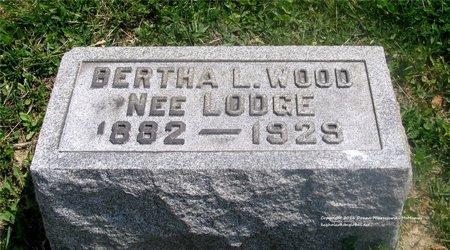 WOOD, BERTHA L. - Lucas County, Ohio | BERTHA L. WOOD - Ohio Gravestone Photos
