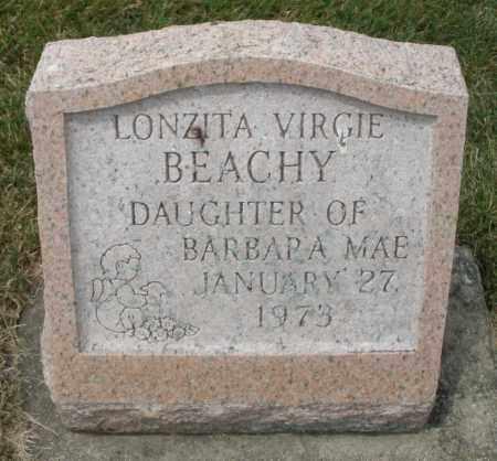 BEACHY, LONZITA VIRGIE - Madison County, Ohio   LONZITA VIRGIE BEACHY - Ohio Gravestone Photos