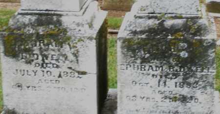 BIDWELL, EPHRAM - Madison County, Ohio | EPHRAM BIDWELL - Ohio Gravestone Photos