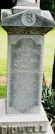 BIDWELL, LINCOLN - Madison County, Ohio | LINCOLN BIDWELL - Ohio Gravestone Photos