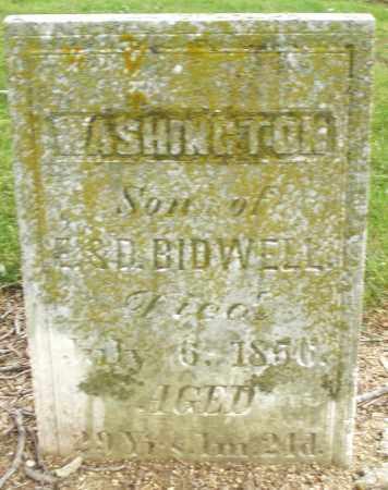 BIDWELL, WASHINGTON - Madison County, Ohio | WASHINGTON BIDWELL - Ohio Gravestone Photos