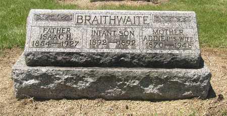 BRAITHWAITE, ISAAC - Madison County, Ohio | ISAAC BRAITHWAITE - Ohio Gravestone Photos