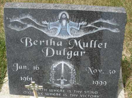 DULGAR, BERTHA MUFFET - Madison County, Ohio   BERTHA MUFFET DULGAR - Ohio Gravestone Photos