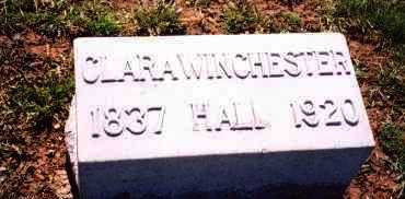 WINCHESTER HALL, CLARA - Madison County, Ohio   CLARA WINCHESTER HALL - Ohio Gravestone Photos