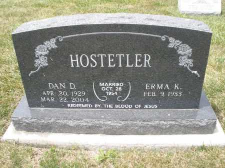 HOSTETLER, DAN D. - Madison County, Ohio   DAN D. HOSTETLER - Ohio Gravestone Photos