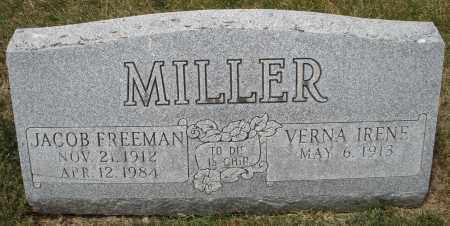 MILLER, JACOB FREEMAN - Madison County, Ohio | JACOB FREEMAN MILLER - Ohio Gravestone Photos