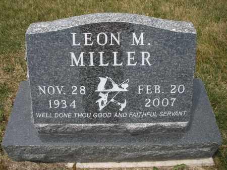 MILLER, LEON M. - Madison County, Ohio   LEON M. MILLER - Ohio Gravestone Photos