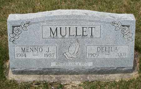 MULLET, MENNO J. - Madison County, Ohio | MENNO J. MULLET - Ohio Gravestone Photos