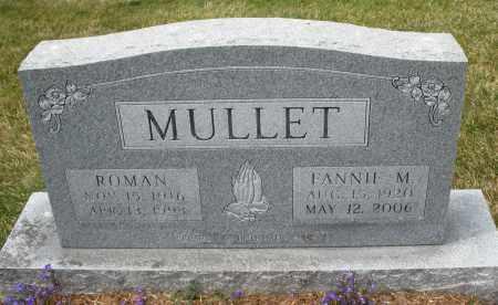 MULLET, ROMAN - Madison County, Ohio | ROMAN MULLET - Ohio Gravestone Photos