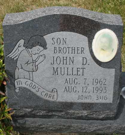 MULLETT, JOHN D. - Madison County, Ohio   JOHN D. MULLETT - Ohio Gravestone Photos