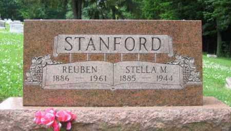 STANFORD, REUBEN - Madison County, Ohio   REUBEN STANFORD - Ohio Gravestone Photos