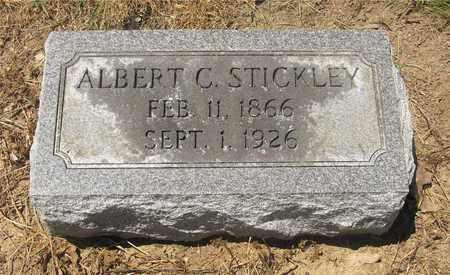 STICKLEY, ALBERT C. - Madison County, Ohio   ALBERT C. STICKLEY - Ohio Gravestone Photos