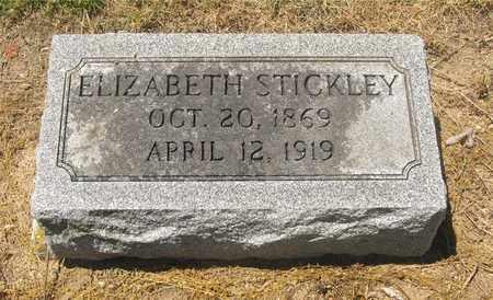 STICKLEY, ELIZABETH - Madison County, Ohio   ELIZABETH STICKLEY - Ohio Gravestone Photos