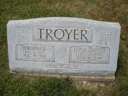TROYER, EDNA ELVESTA - Madison County, Ohio | EDNA ELVESTA TROYER - Ohio Gravestone Photos