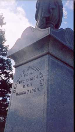 WINCHESTER, DENNIS W. - Madison County, Ohio | DENNIS W. WINCHESTER - Ohio Gravestone Photos