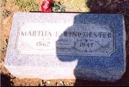 WINCHESTER, MARTHA FANNIE - Madison County, Ohio | MARTHA FANNIE WINCHESTER - Ohio Gravestone Photos