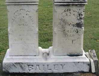 BAILEY, NANCY - Marion County, Ohio | NANCY BAILEY - Ohio Gravestone Photos