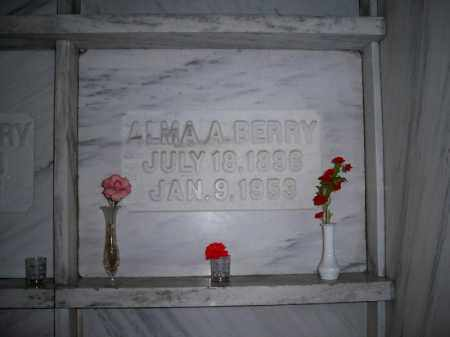 BERRY, ALMA ALICE - Marion County, Ohio | ALMA ALICE BERRY - Ohio Gravestone Photos