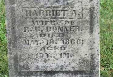 BONNER, HARRIET A. - Marion County, Ohio   HARRIET A. BONNER - Ohio Gravestone Photos