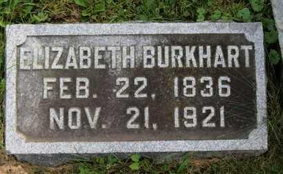 BURKHART, ELIZABETH - Marion County, Ohio | ELIZABETH BURKHART - Ohio Gravestone Photos