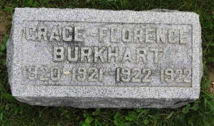 BURKHART, FLORENCE - Marion County, Ohio | FLORENCE BURKHART - Ohio Gravestone Photos