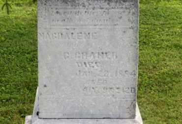 CRANER, C. - Marion County, Ohio   C. CRANER - Ohio Gravestone Photos