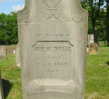 DRAKE, WILLIAM W. - Marion County, Ohio | WILLIAM W. DRAKE - Ohio Gravestone Photos